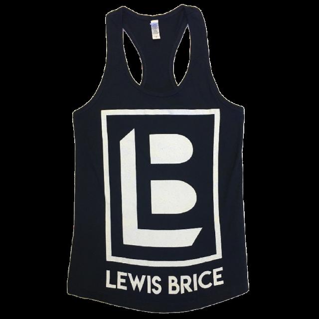 Lewis Brice Navy Racerback Tank