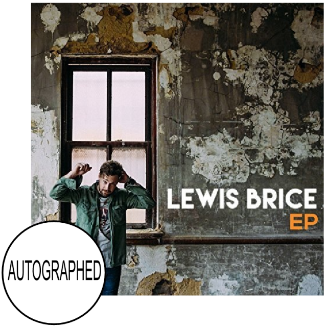 Lewis Brice AUTOGRAPHED EP